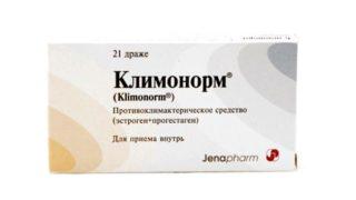 Климонорм - препарат при климаксе