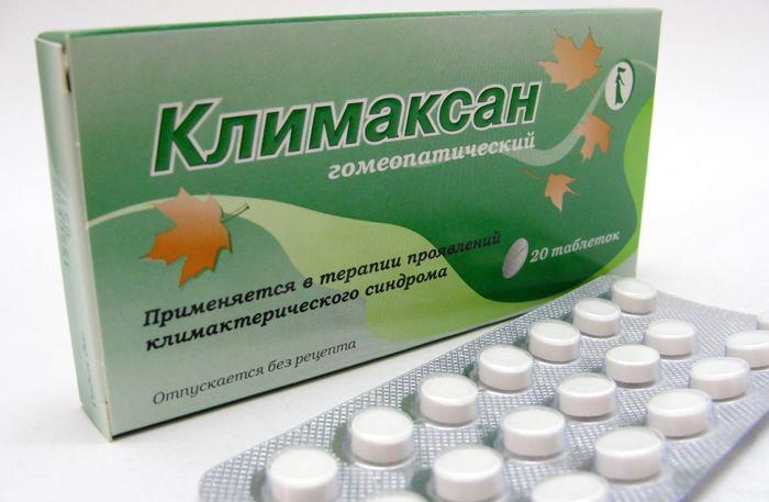 Гомеопатический Климаксан в таблетках