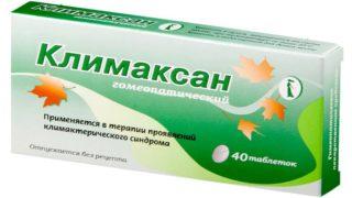 Гомеопатические препараты при климаксе список препаратов