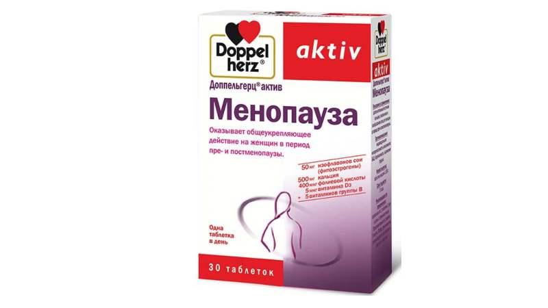 Витамины Доппельгерц Менопауза при климаксе