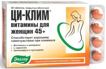 Витамины Ци-клим после 45 лет - лечение климакса