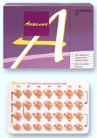 Анжелика таблетки при климаксе - инструкция