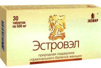 Эстровэл - препарат при климаксе негормональный