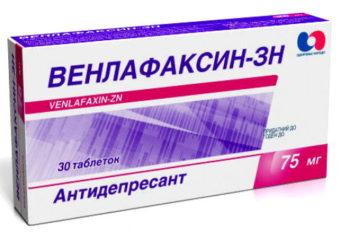 Венлафклаксин - антидепрессант для лечения климакса